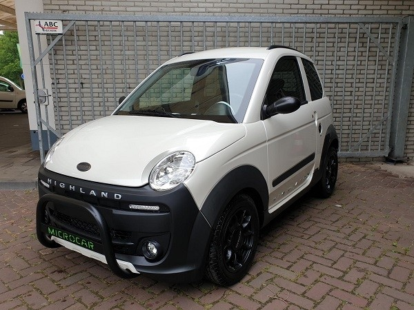 Microcar Mgo Highland X pearly white