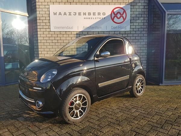Microcar Due Premium Zwart (BTW voertuig)