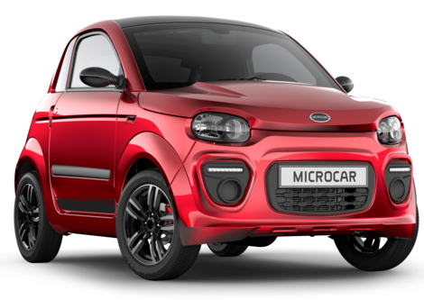 Microcar Dué Plus Pack Design