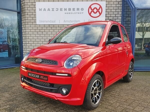 Microcar MGo4 Premium DCI EPS (BTW occasion)