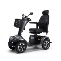 Scootmobiel Carpo 4 limited antraciet grijs