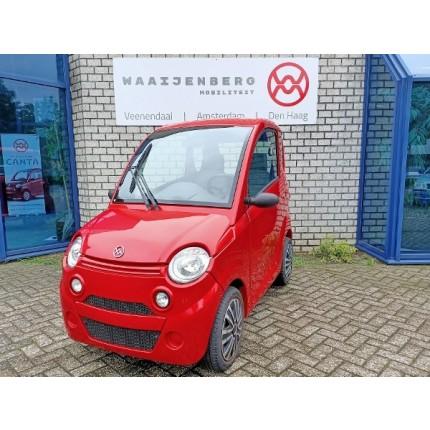 Canta 2 Premium Rood met handsegment gas & rem rechts & opklapbare pedalen