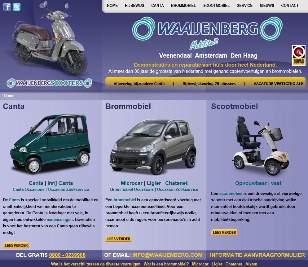 Waaijenberg Website